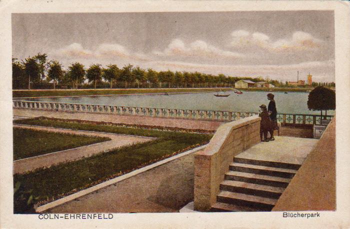 Blücherpark um 1916