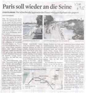 Paris ohne Auto