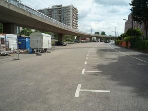 Realität Parkplatz