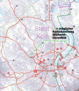 Radroutennetz NRW inkl. REWK