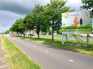 So einen Radweg wünscht man sich für Köln - gerne auch ohne Solarzellen!